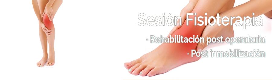 Fisioterapia de rehabilitación y recuperación